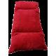 fauteuil pour chien en forme de canapé  avec  coussin rouge lavable