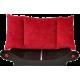fauteuil avec Couchage rouge  pour chien- chat ou pour chatte avec chatons