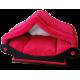 Dôme rouge - maison pour chiot -corbeille rouge - Spécial tranquilité !