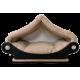 grand -Dôme marron clair - maison pour chat