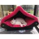 superbe grand  Dôme xxl rouge pour chat