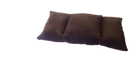 canape-corbeille-lit-panier  pour chien-chat -chiots coussin marron fonce