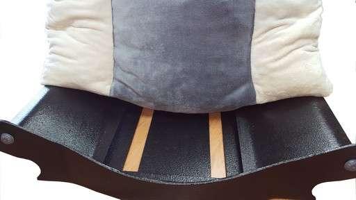 canape couchage amovible  pour chien corbeille panier coussin en fourrure ecru grise ecru