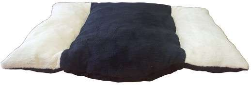 anape couchage pour chien corbeille panier coussin de rechange en fourrure écru noir écru