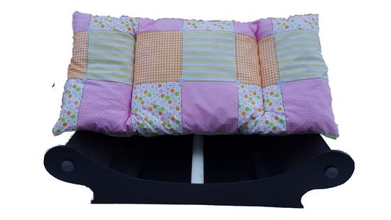 canape chat-chien -couchage-chien-canape pour chien-chat-lit pour chien-chat corbeille-chatte  coussin amovible lavable en machine patchork rose