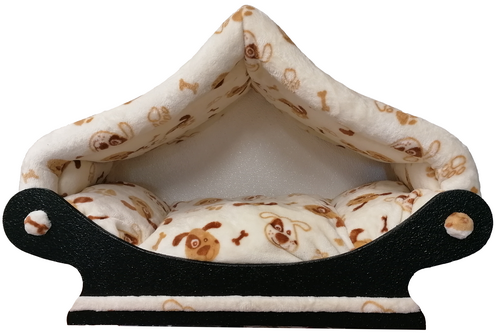 canapé dôme -niche pour chat